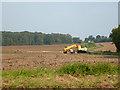 TL6147 : Agricultural loader and trailer by Robin Webster