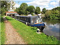TQ0588 : Waylander, narrowboat on Grand Union Canal near Denham by David Hawgood