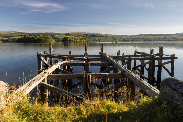 Old jetty, Loch Awe