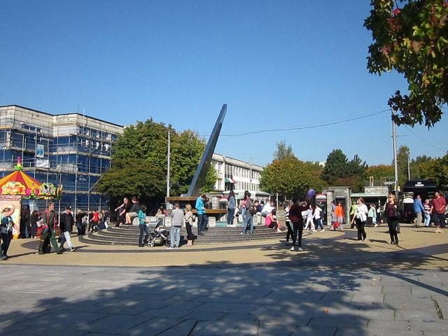 Sundial Plymouth City Centre