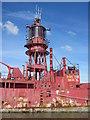 TQ7871 : Close up of South Rock Light Ship by David Anstiss