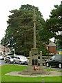 SK5778 : St Anne's Parish War Memorial by Alan Murray-Rust