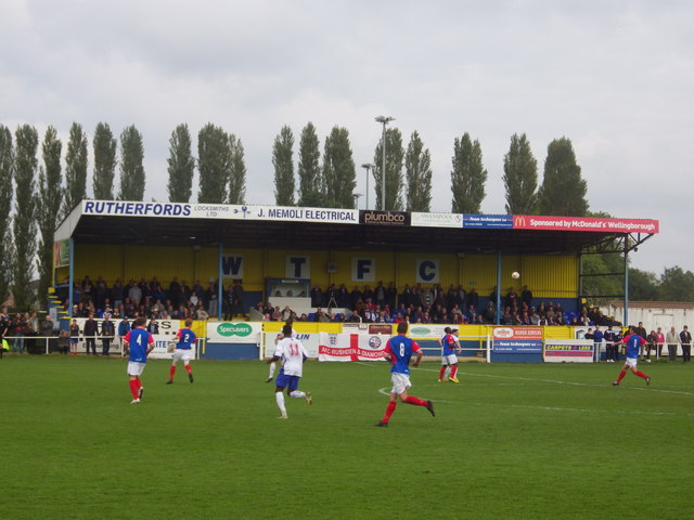 The Main Stand, The Dog and Duck Ground