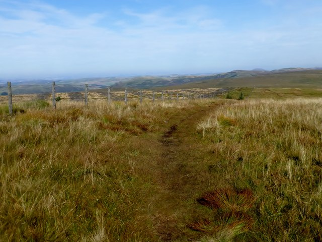 Looking Northwards Along The Pennine Way