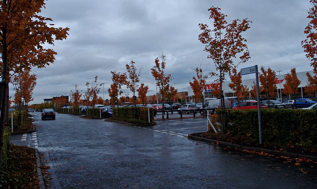 Hermiston Gait Retail Park, Edinburgh