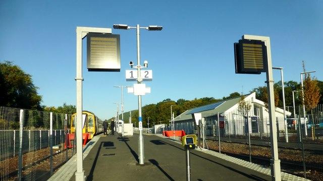 Tweedbank Station Platforms 1 and 2