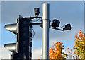 """J3474 : """"PUFFIN"""" crossing, Queen Elizabeth Bridge, Belfast - October 2015(3) by Albert Bridge"""