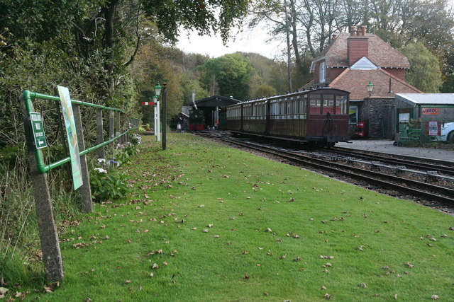 Woody Bay Station, Lynton and Barnstaple Railway