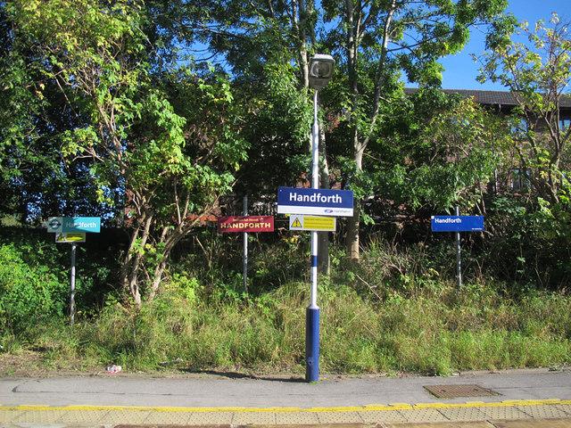 Handforth station signs (1)