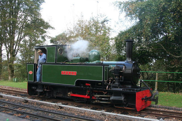'Isaac' at Woody Bay Station