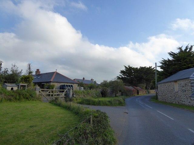 Chymder, west of Cury
