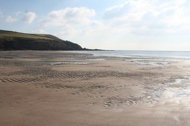 Meadowsfoot Beach at low tide