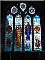SW7329 : Lady Chapel window, St Constantine church by David Smith