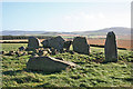 NJ5527 : Ardlair Recumbent Stone Circle (6) by Anne Burgess