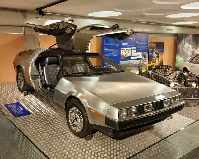 Delorean Ulster Folk Transport Museum Rossographer