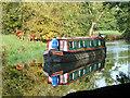 SU6570 : Narrow boat on River Kennet Navigation by Robin Webster
