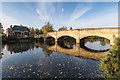 SK5805 : Bridge over the River Soar, Abbey Park by David P Howard