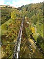 SC4385 : The crankshaft viaduct at the Laxey Wheel by Richard Hoare