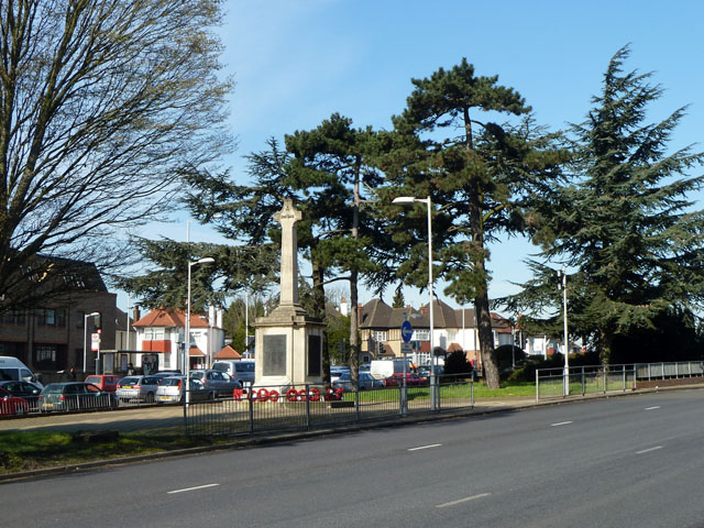 War memorial, Hendon