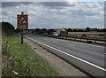 TL3267 : A14 near Fen Drayton by Hugh Venables