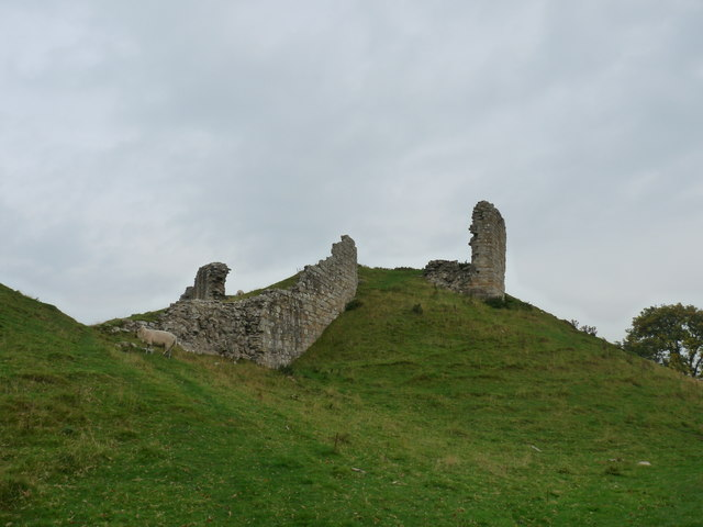 Ruins of Harbottle Castle