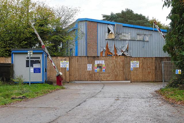 Former Bisley office furniture factory © Alan Hunt :: Geograph ...