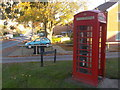 SY6790 : Dorchester: doorless phone box in Wessex Road by Chris Downer