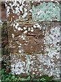 SJ5204 : OS benchmark - Pitchford Hall, St Michaels church by Richard Law