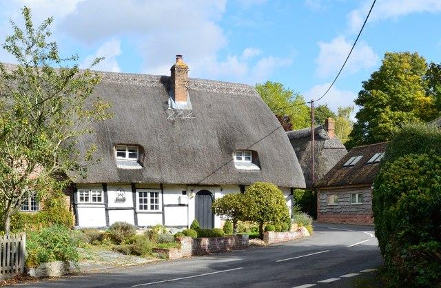 Thatched Cottage Boxford Berkshire 169 Oswald Bertram Cc