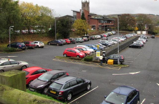 Galdeford Car Park Ludlow