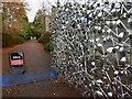 NT2475 : Gates into the Eastern end of the Royal Botanic Gardens Edinburgh : Week 45