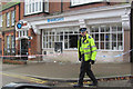 SP9211 : Protecting Barclays Bank, Tring, after the cash machine raid : Week 46