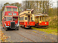 SD8303 : Manchester Transport Line-Up, Heaton Park Tramway by David Dixon