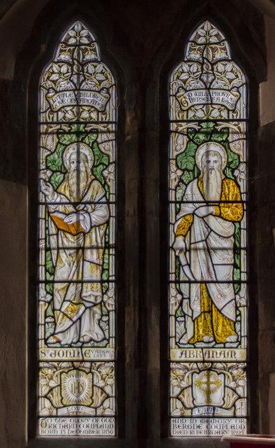 Stained Glass Window St Lawrence S 169 Julian P Guffogg