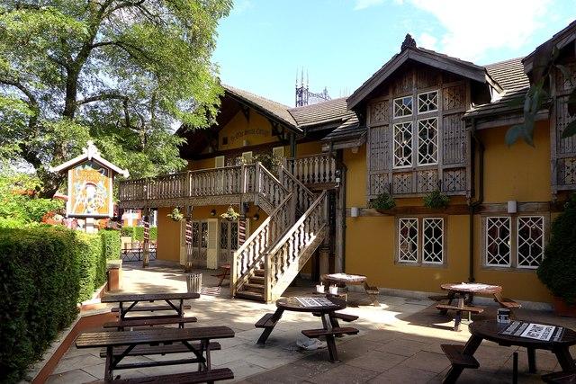 London - Ye Olde Swiss Cottage