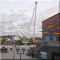 ST3187 : Newport City Footbridge : Week 46