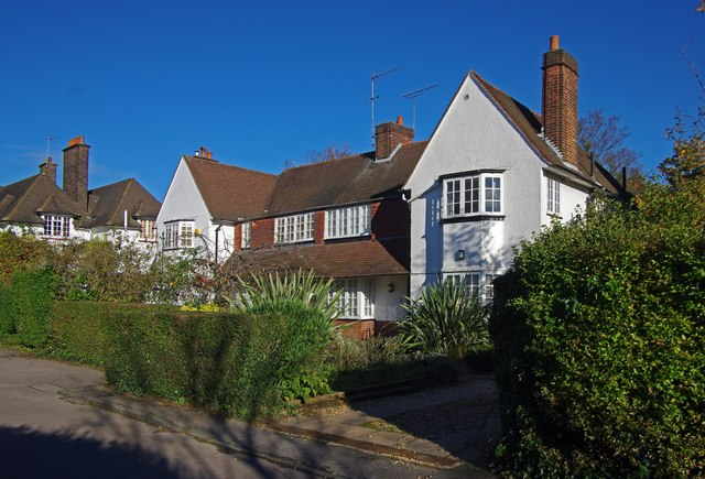 Arts Crafts Houses Ruskin Close Hampstead Garden Suburb