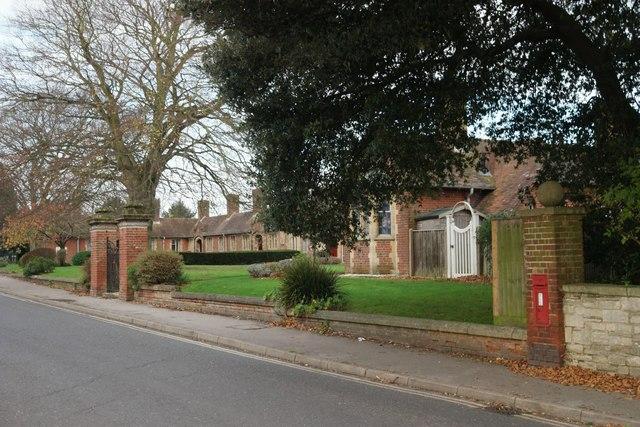 Stretche's Almshouses, Wareham
