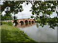 SO9242 : Eckington Bridge over the River Avon, Worcestershire by Jeff Gogarty