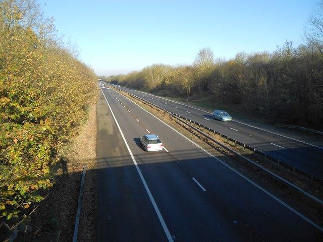 A1(M) near Knebworth