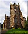 SJ5658 : St Boniface's Church, Bunbury by Ian Taylor