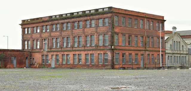 Former Harland & Wolff headquarters building, Belfast - November 2015(1)