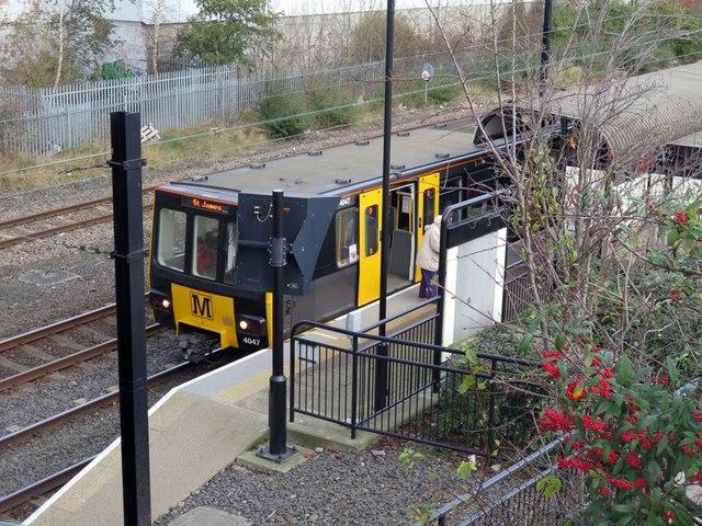 Hebburn Metro Station
