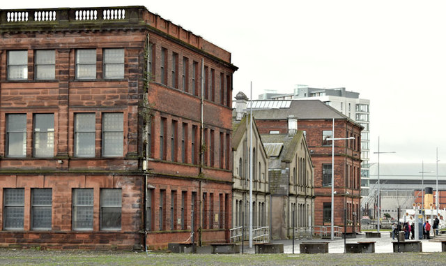 Former Harland & Wolff headquarters building, Belfast - November 2015(2)