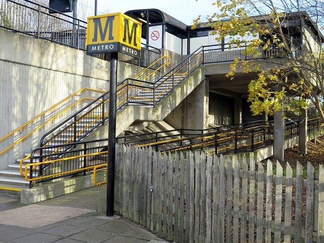 Bede Metro Station