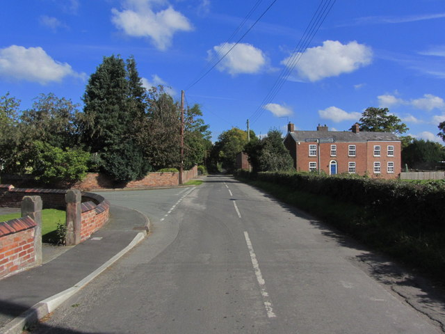 Road NE from Brookhouse Green