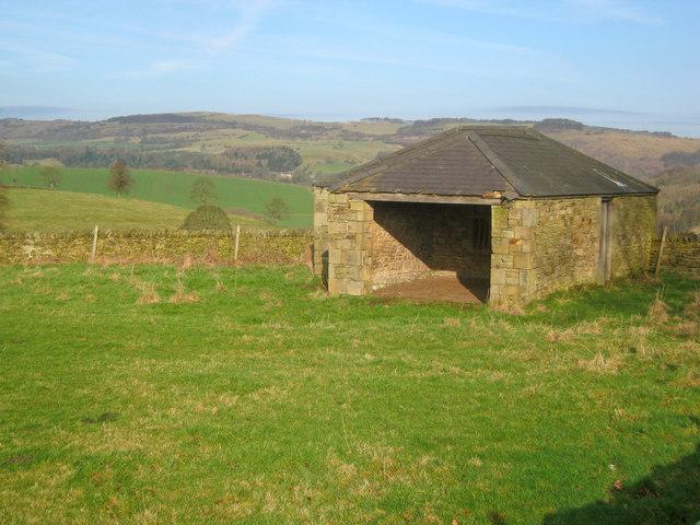Small barn near Pilsley