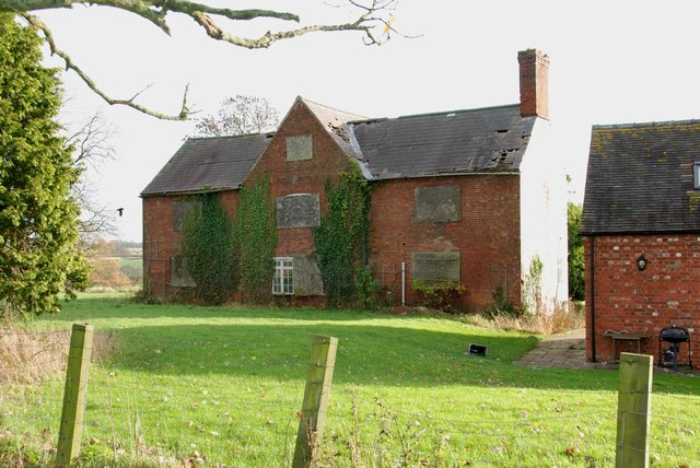 The old Farmhouse at Moreton Farm
