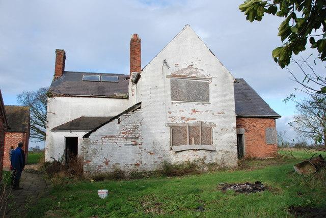 The old Farmhouse at Moreton Farm [Rear]