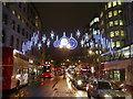 TQ3080 : Christmas lights in The Strand 2015 : Week 48